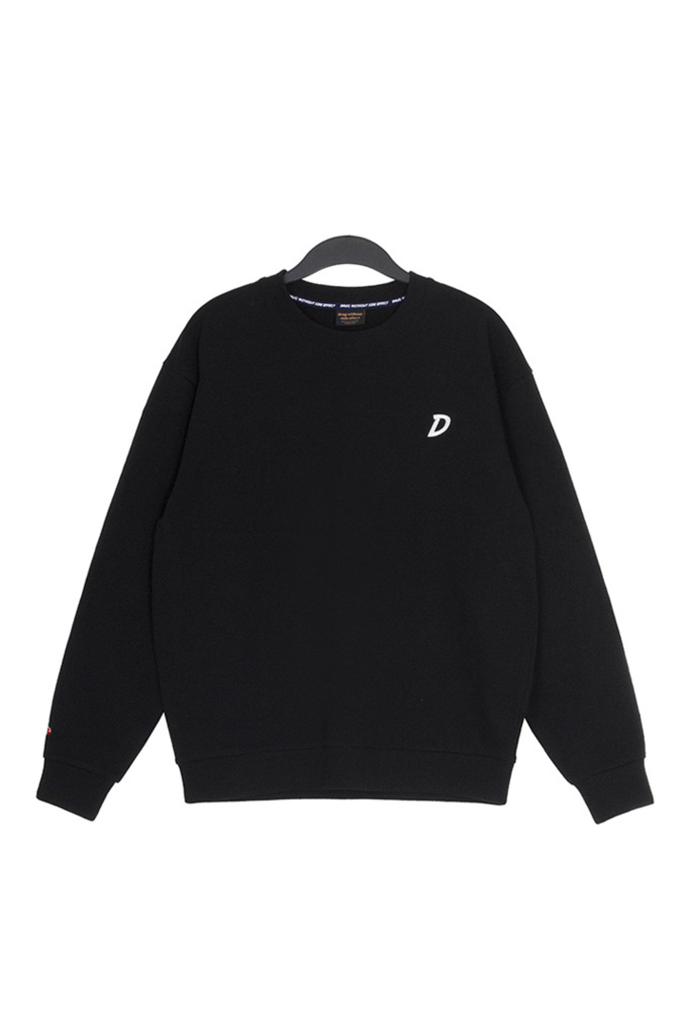 D SWEAT SHIRTS (BLACK)