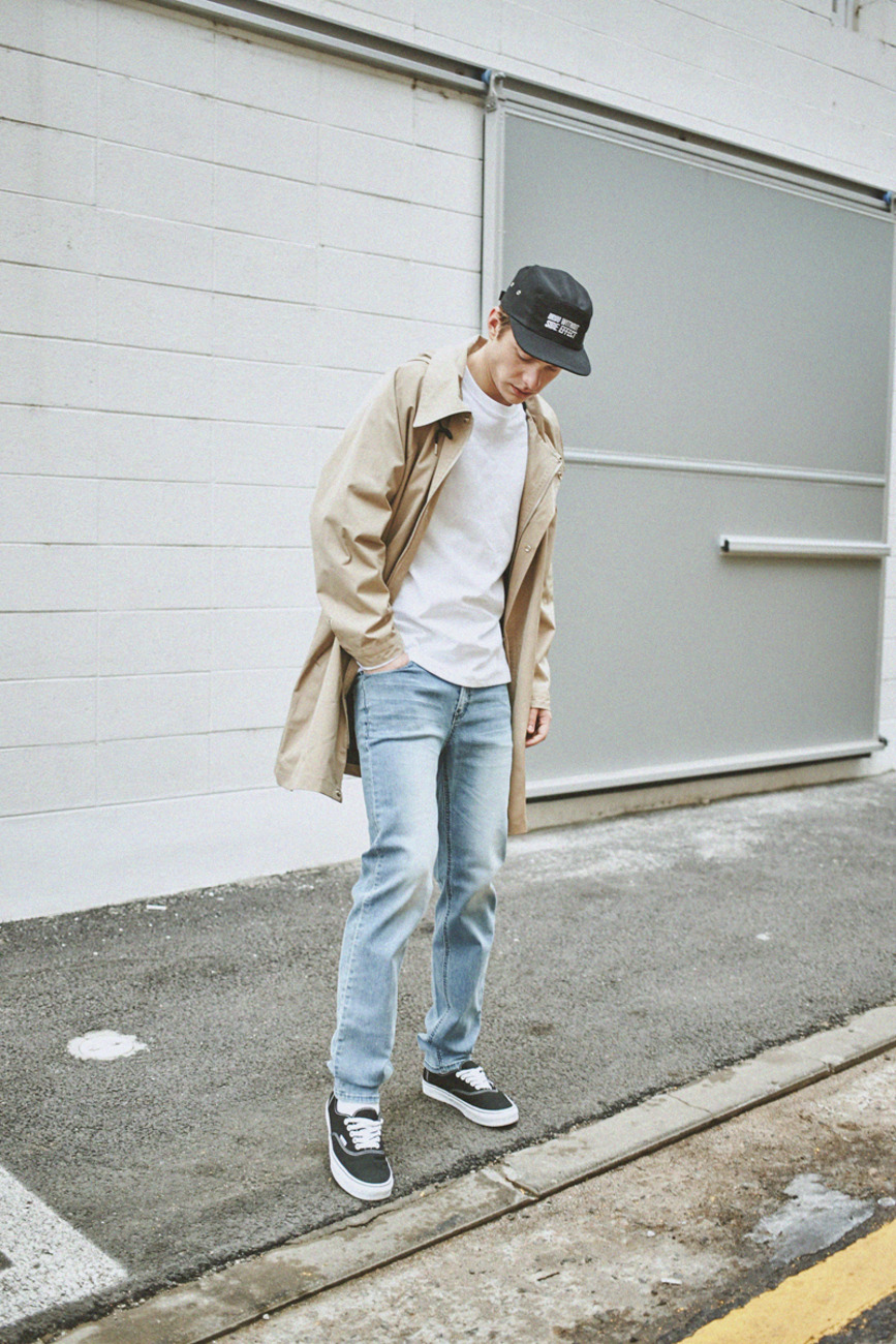 LONG COACH JACKET BEIGE