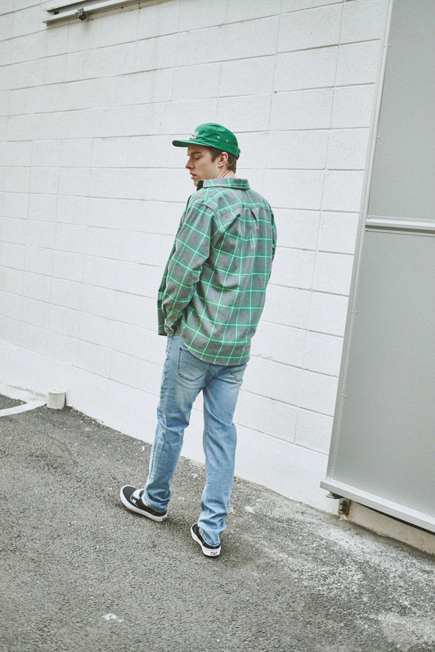 GREEN CHECK SHIRTS