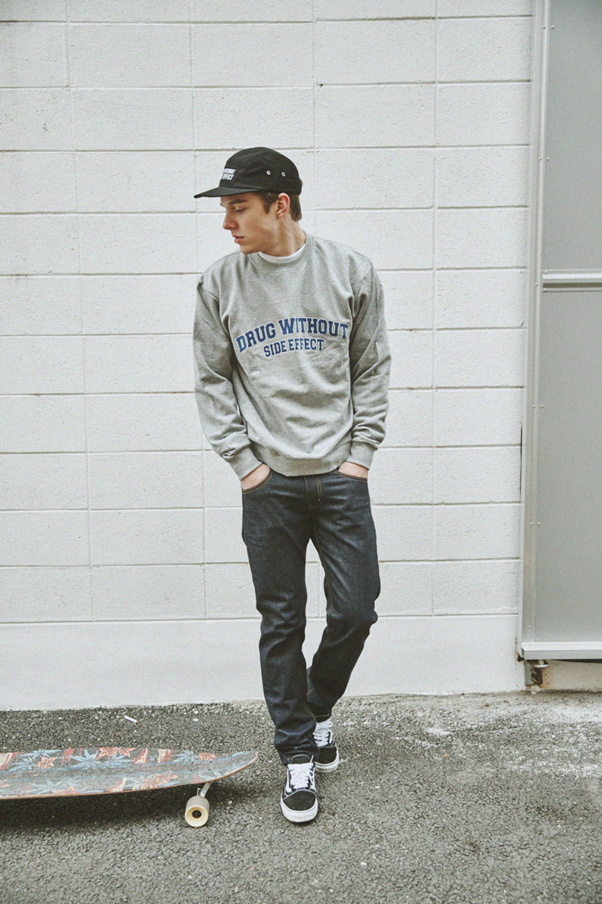 BASIC SWEAT GRAY