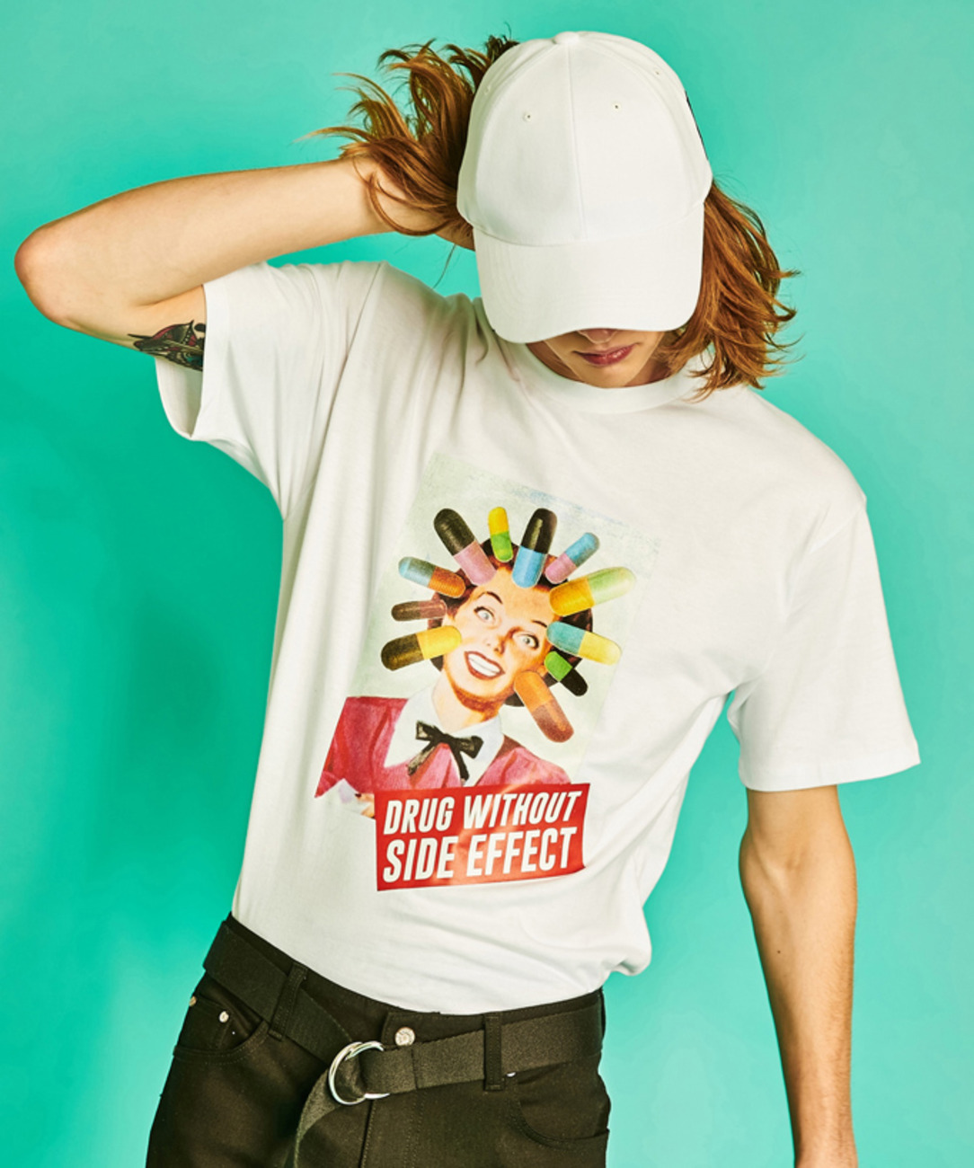 Drug Girl Tee (White)