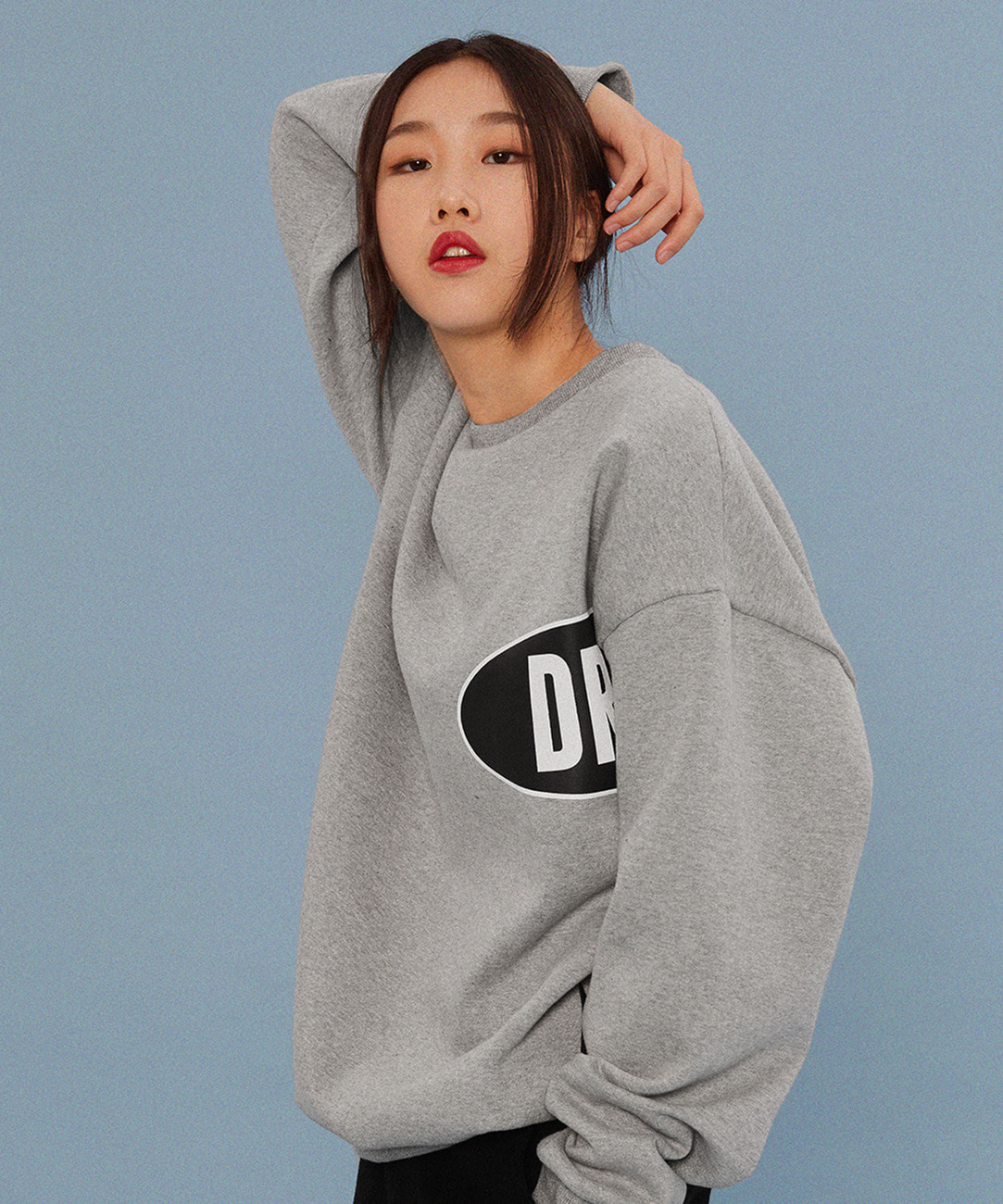Ellips Lettering Sweat (Gray)