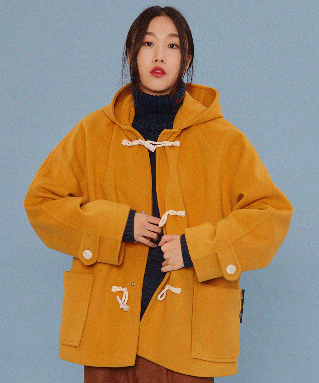 Short Duffle Coat (Mustard)