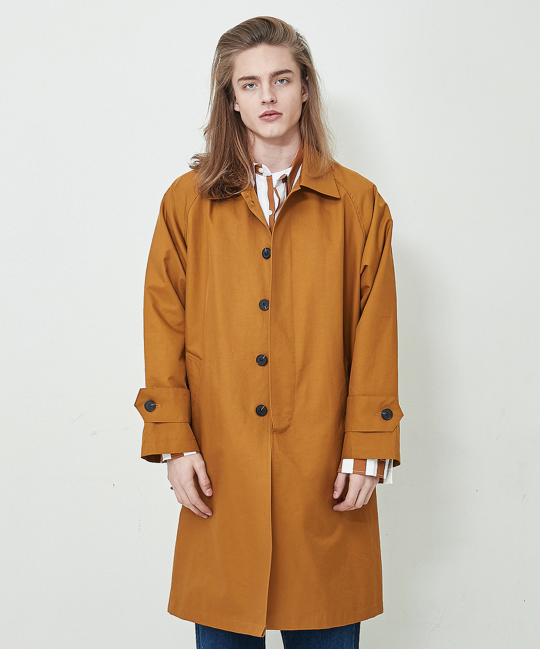 Classic Mac Trench Coat (Camel)