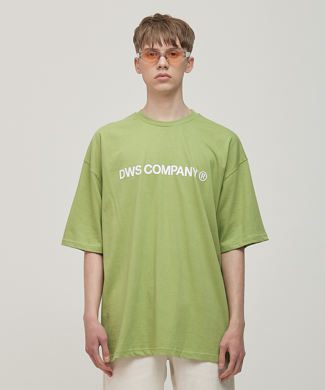 DWS SIGNATURE T-SHIRT(OLIVE GREEN)