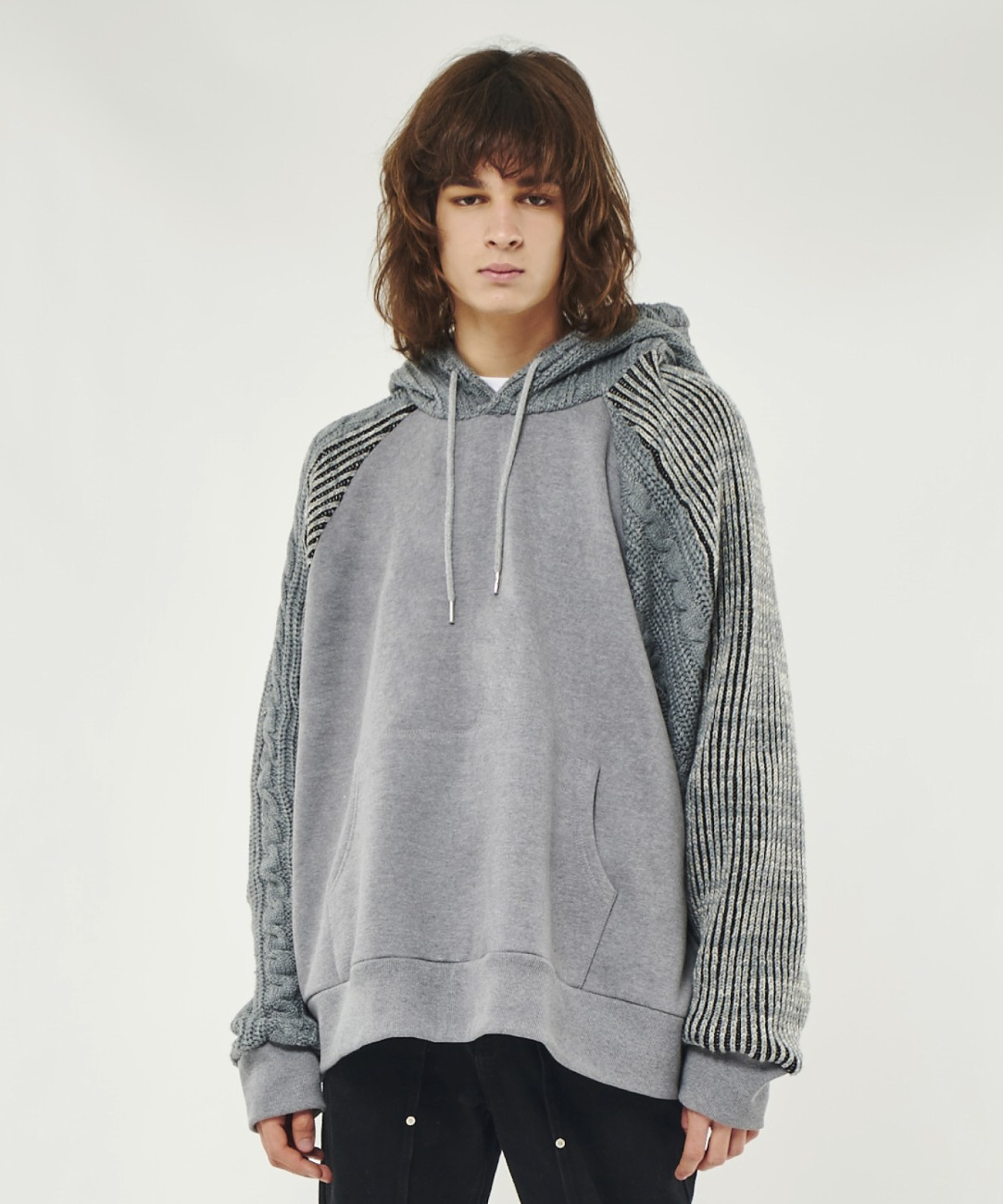DWS OVER-FIT CONTRAST HOODIE