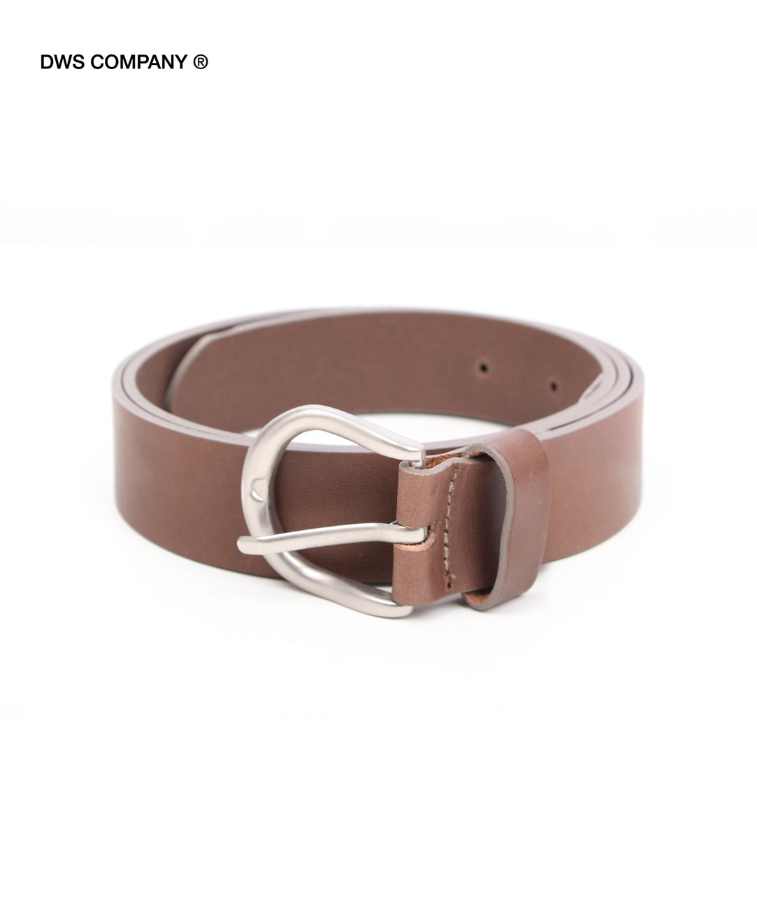 DWS BASIC LEATHER BELT(MOCHA)