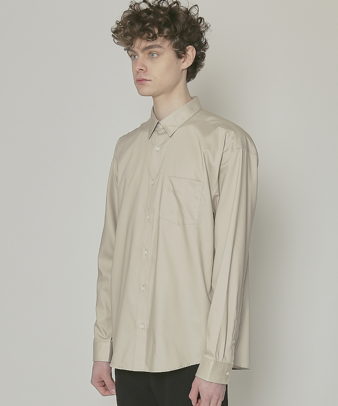 DWS ESSENTIAL SHIRTS(BEIGE)