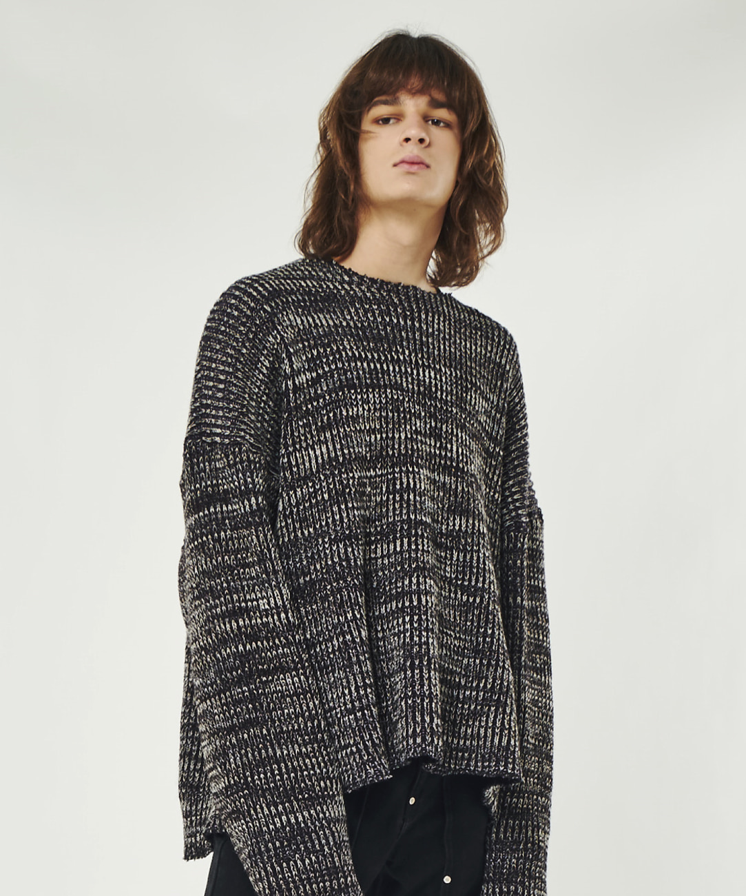 DWS OVER-FIT KNIT PULLOVER